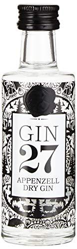 Gin 27 GIN 27 Premium Appenzeller Dry Gin Miniatur  Gin (1 x 50 ml)