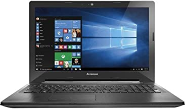 2016 Lenovo G50 Laptop PC, 15.6-inch HD LED Backlight Display, AMD E1-6010 Dual-Core Processor, 4GB DDR3L RAM, 500GB HDD, DVDRW, Bluetooth, HDMI, Windows 10