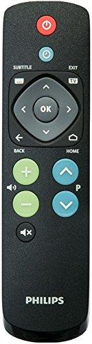 Philips 22av1601a/12Tasten schwarz Fernbedienung–Fernbedienungen (schwarz, TV, Drücker, AAA, 184mm, 48mm)