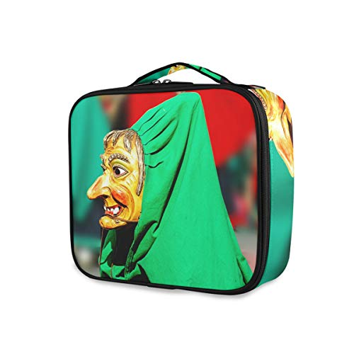 FANTAZIO make-up tas carnaval heks aankleden patroon make-up organizer make-up case