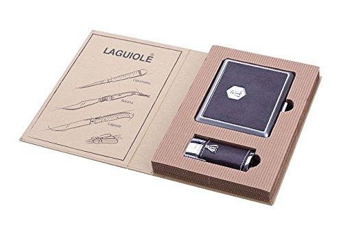 Laguiole 40202519 Feuerzeug + Zigarettenetui