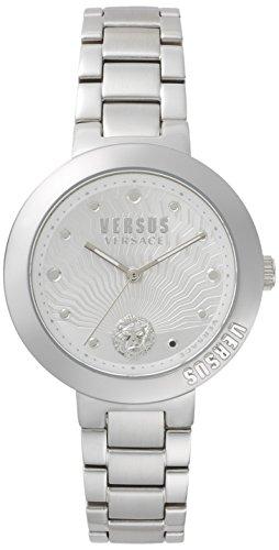 Versus Versace Orologio Analogueico Quarzo Donna con Cinturino in Acciaio Inox VSP370417
