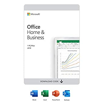 Microsoft Office Home & Business 2019 | One-time purchase 1 device | PC/Mac Download