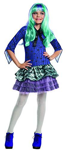 Generique Twyla Monster High-Kostüm für Mädchen 122/134 (7-9 Jahre)