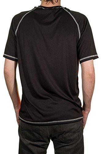 NHL Men's Official Team Performance Short-Sleeve Rash Guard