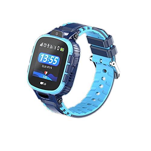 chengjinhuashangmao Reloj Inteligente Que se Cae de la Profundidad de Alarma Reloj de teléfono a Prueba de Agua (Color : Blue)
