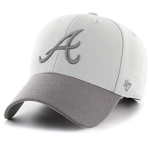 '47 Brand Adjustable Cap - MVP Atlanta Braves grau