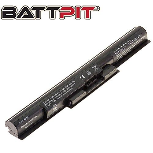BattPit Laptop Battery for Sony VGP-BPS35 VGP-BPS35A Vaio Fit 15E SVF1521K4E SVF1521C5E - High Performance [4-Cell/2200mAh/33Wh]