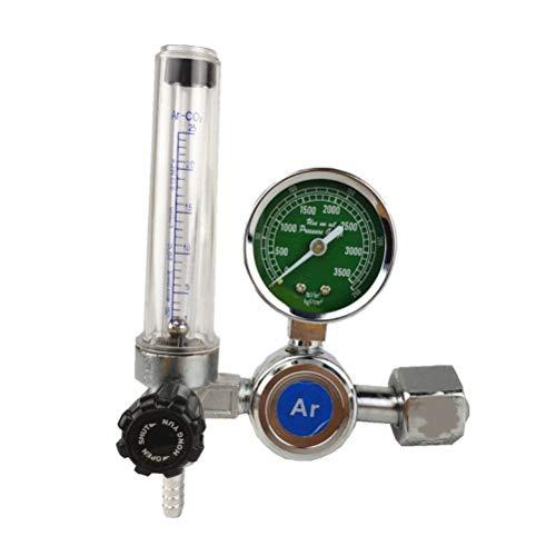 Release Argon Regulador 0-25 Mpa Argon CO2 Helio nitrógeno G5 / 8 mag TIG Welding Medidor de Gas Inlet MIG/Flujo Presión Regulador de Flujo
