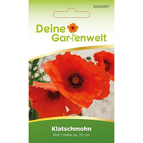 Klatsch-Mohn rot | Mohnsamen | Saatgut für Klatschmohn | Samen für Mohn