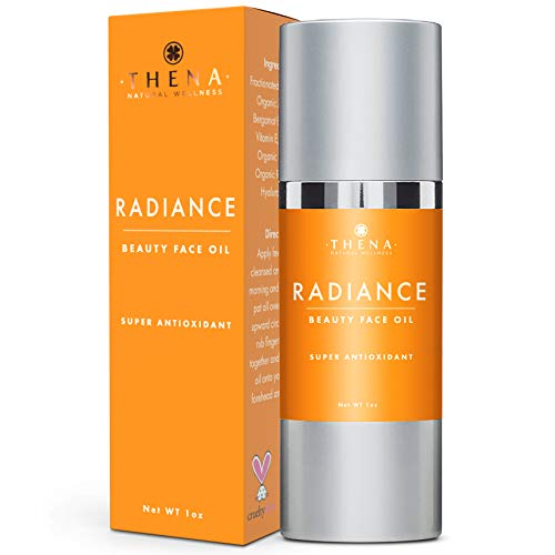 Anti Aging Serum Face Oil With Antioxidant Vitamin C & E Hyaluronic Acid Rosehip Jojoba Oils, Organic Natural Skin Care Facial Moisturizer Best Face Care Beauty Products For Women Men