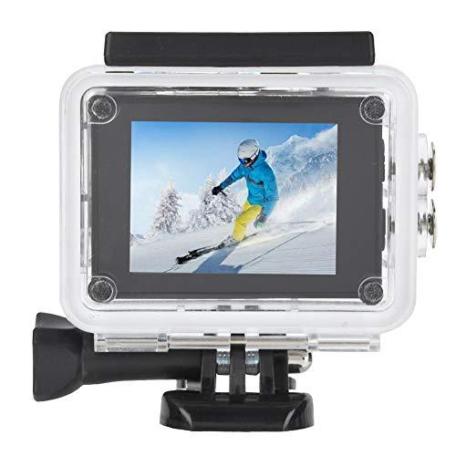 Sportactiecamera, 4K 30FPS Actie Videocamera's Set 2.0inch LCD-scherm Actiecamera Onderwatercamcorders 30M Waterdichte opnamecamcorder