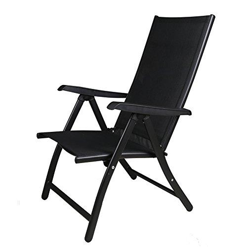Porte MAZHONG Lazy Chair Lounge Balcon Beach Chair Pliable
