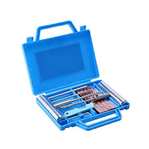 CULER 11pcs / Set Multifunktions Praktische Heavy Duty Reifen-Reparatur-Kit Auto-Motorrad-Reifen-Reparatur-Kit (zufällige Farbe)