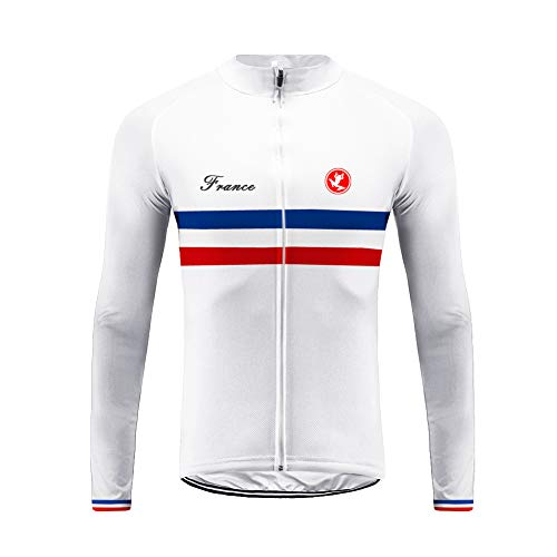 Future Sports UGLYFROG Bike Wear Newest Designs Maillot Ciclismo Hombre, Maillot Bicicleta Hombre, Camiseta Ciclismo con Manga Larga 100% Poliéster Transpirable Top