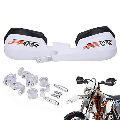 Dirt Bike Garde-Mains de Moto 7//8 22mm et 1 1//8 28mm PP Protection Universelle pour Tout-Terrain KTM Yamaha Suzuki Kawasaki Honda Motocross Racing Supermoto Dirtbike