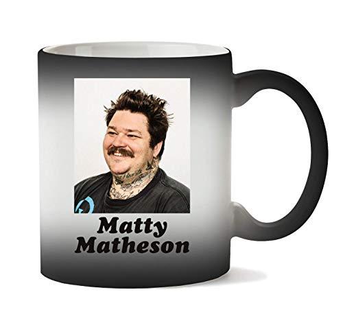 Herto Art Matty Matheson Taza Calor Cambio De Color