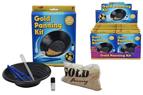 KandyToys TY9522 World of Science Gold Panning Kit | Kinder-Experimentier-Set, Mehrfarbig