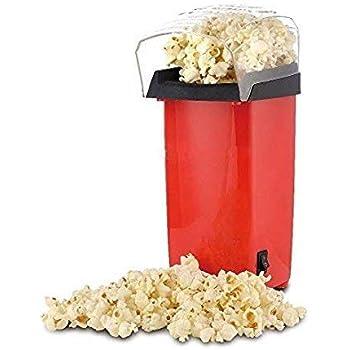 Wishbone Instant Popcorn Maker - Hot Air Oil Free Popcorn and Snack Maker 1200W