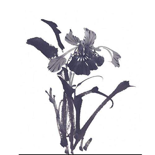 Tuschemalerei des chinesischen Stils handgemalte minimalistische Kunstkunstdesign-Tuschemalerei