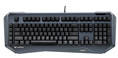 Rapoo VPRO V800 Beleuchtete Mechanische Gaming Tastatur (Makro-Tasten, deutsches Layout)
