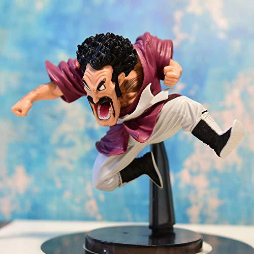 N / A Dragon Ball Modelo Decoración Modelo Tortuga Inmortal Wu Tian Maestro Oolong Kling Satan Q Sión-Satan (Ataque Llamativo) -14cm Regalo Creativo Modelo De Regalo Decoracion De Escritorio
