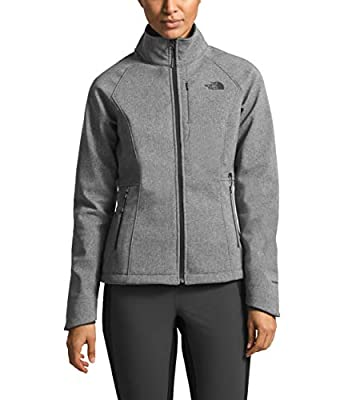 The North Face Women's Apex Bionic 2 Jacket, TNF Medium Grey Heather, Size L