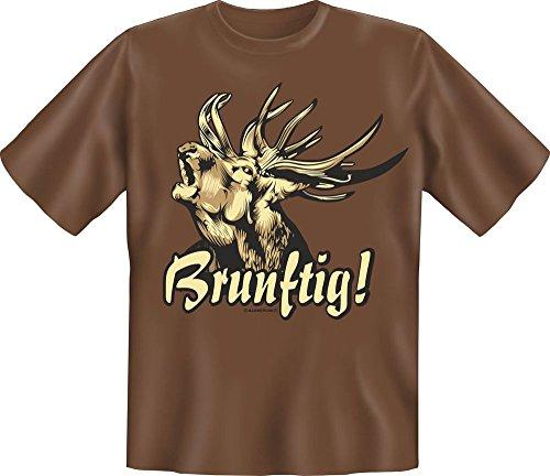 Chasseur – Brun toxique. – Fun T-shirt – Tailles S, M, L, XL, XXL XXL mehrfarbig