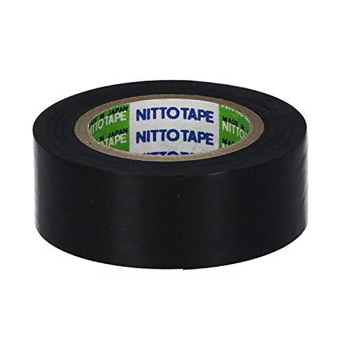 ニトムズ 自己融着テープ 水道管の修理 絶縁 のり残りしない ブチル ゴム 幅19mm×長さ2m×厚さ0.5mm 1巻入 黒 M5010