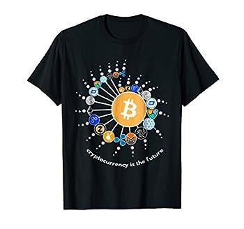 Cryptocurrency T-shirt Bitcoin Ethereum Litecoin T-shirt.