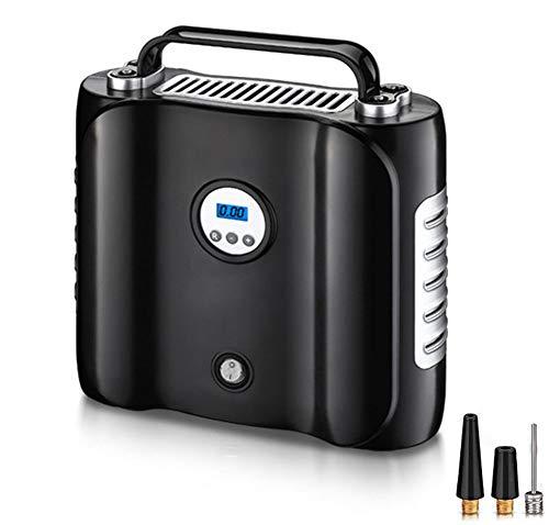 Bomba de compresor de aire portátil, LED de iluminación de neumáticos inflador...