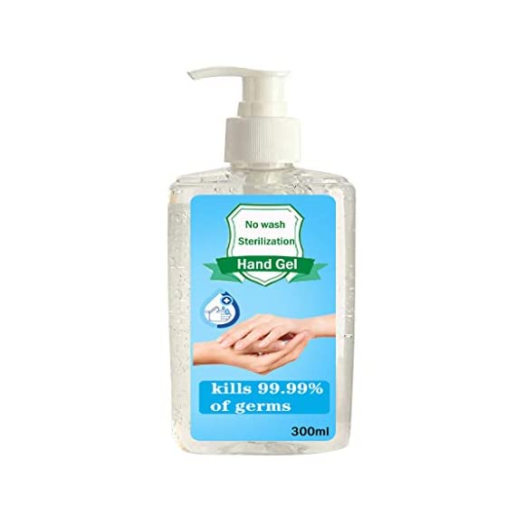 300ML Wash-Free Refreshing Hand Sanitizer Gel, Multipurpose Hand Soap Gel to 24-Hour Protection for Adults & Kids Kills 99.99% of Germs, Soft and Non-irritating 7 <p>❤️ PROTECT AGAINST BACTERIA: The hand cleaner is an Non-irritating Refreshing Hand Gel Hand Sanitizer that kills dirty stuff on contact! This clearner formula stops the spread of dirty stuff to keep your family safe. Safe for babies. ❤️ MOISTURIZING HAND CLEANER: Soft and non-irritating, does not harm the skin, has a water retention and hydration function ❤️ FOR THE FAMILY: Pass on the Dial heritage to the hands you care about most. Formulated to be gentle on skin, even on the smallest hands. ❤️ KILLS 99% OF DIRTY STUFF: Kills 99.99% of Bacteria* (*Bacteria encountered in household settings).This hand sanitizer is the perfect solution for hand hygiene at home, the office, medical facilities or while you travel. It stops the transition of dirty stuff and cleanses your skin. ❤️❤️ We truly want you to be happy with our items and our professional customer service will do whatever it takes to ensure your satisfaction. If you are not fully happy with the Sunshinehomely products, please feel free to contact us, Our customer representatives will respond you within 24 hours.</p>