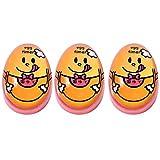 JUSTDOLIFE Eieruhr Kreative Süße Farbwechsel Küchenuhr für Weiche Und Hartgekochte Eier