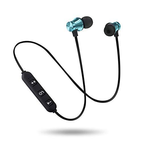 TAORANG Auriculares Bluetooth con Micrófono Auriculares Inalámbricos Impermeables en La Oreja Tapones de Oído Cancelación de Ruido Auriculares para Trabajo Al Aire Libre Oficina en Casa