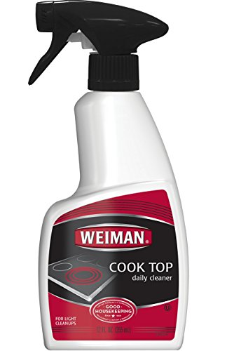 Weiman Glass Cooktop Cleaner  12 Ounce