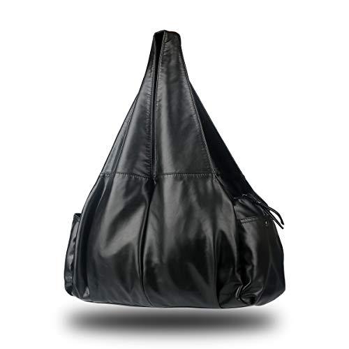 XMRS Handbag For Women,Large Slouchy Hobo Bag Soft Washed PU Leather...