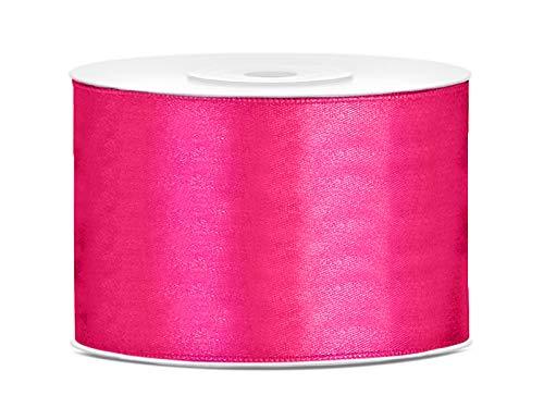 Satinband Dekoband 50 mm breit (pink)