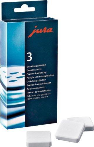 Tablettes de détartrage Jura (9tablettes)