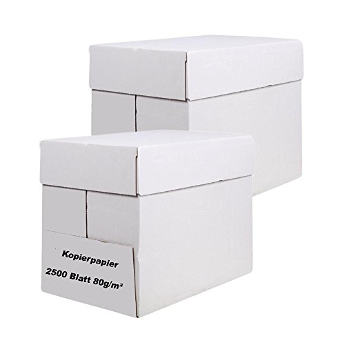 5000 Blatt EasyInk Kopierpapier Druckerpapier Papier DIN A4 80g/m²