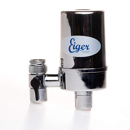 Eiger Filter für Wasserhahn und Wasserhahn, Filtersystem für Wasserhahn, Wasserhahn, Wasserreiniger