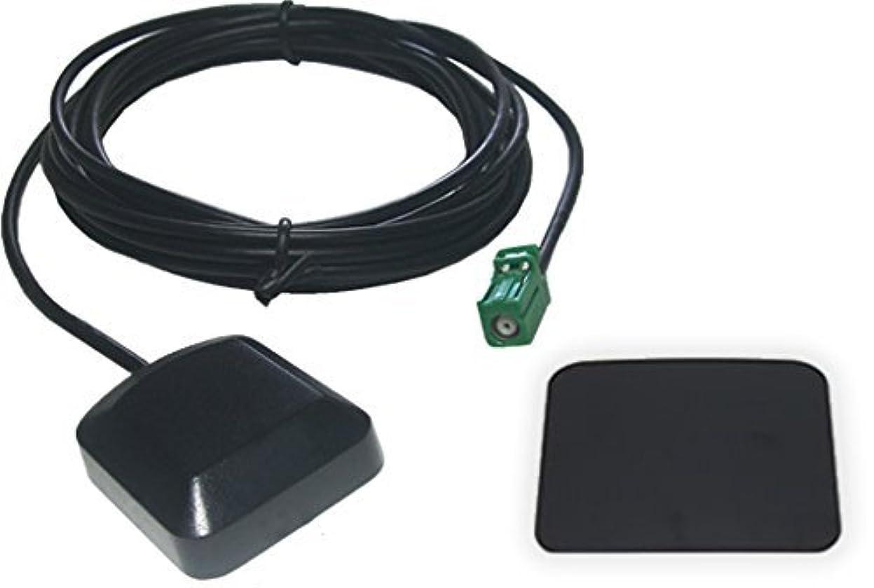 頭マニア公然とAVIC-VH9000 対応 カロッツェリア GPSアンテナ + GPSプレート セット 【低価格なのに高感度】