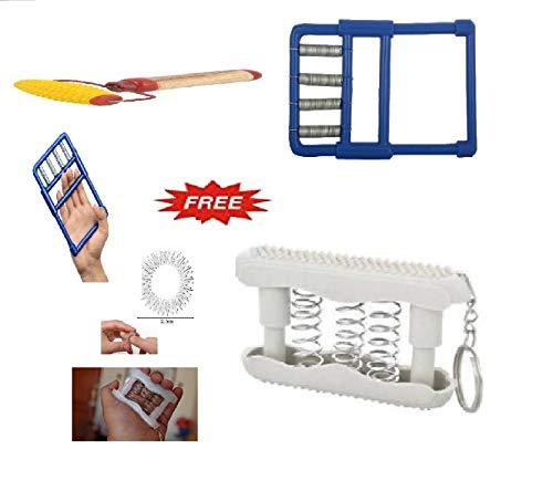 ACS055 Finger Exerciser Hand and finger exercise Finger Support Hand Grip/Fitness Grip Kit Combo