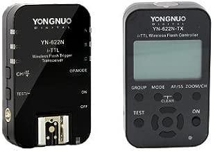 YONGNUO YongNuo YN-622N 1 x TX + 1 x RX i-TTL LCD wireless flash controller wireless flash trigger transceiver DSLR for Nikon D70, D70S, D80, D90, D200, D300S, D600, D700, D800, D3000, D3100, D3200, D5000, D5100, D5200, D5300, D7000, D7100