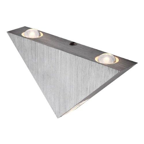 Globo Wandleuchte Gordon, Aluminium