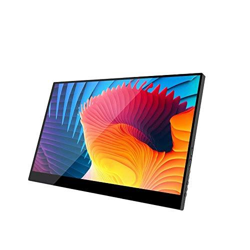 UNU_YAN 15,6 Pulgadas de Pantalla portátil de Pantalla PS4 4K HD, Conveniente for el Ordenador/teléfono móvil / PS4 / conmutación de Pantalla