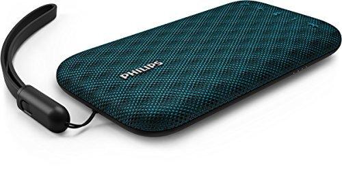 Philips BT3900A EverPlay Bluetooth Lautsprecher (30 M Verbindung, Schnellladeoption, 8 Stunde Akku, 4 W) blau