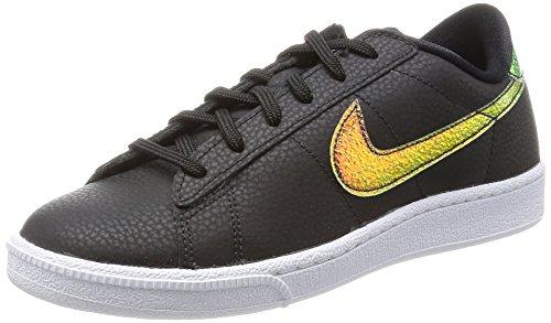 Nike Wmns Tennis Classic Prm, Scarpe Donna, Multicolore (Black/Black/White), 39