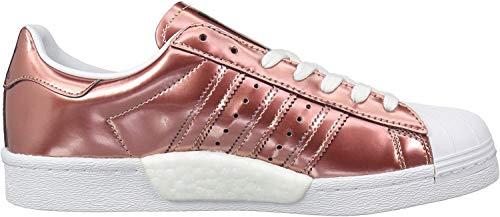 adidas Originals Damen Superstar Turnschuh, Kupfer metallisch/Kupfer metallic/weiß, 37.5 EU