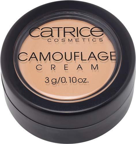 Catrice Camouflage Cream, Concealer, Abdeckstift, Nr. 020 Light Beige, nude, für Mischhaut, für unreine Haut, langanhaltend, mattierend, ohne Parfüm, ohne Alkohol, ohne Parabene (3g)