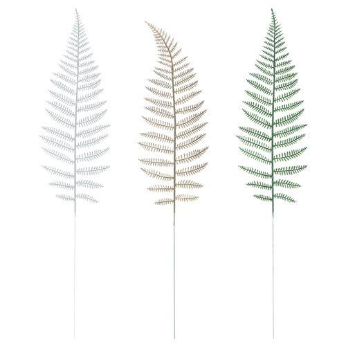 YARNOW 21pcs Artificial Pine Leaves Plastic Plants Pine Needles Branches Fake Greenery Pine Picks for DIY Garland Wreath Christmas Embellishing Home Garden Decoration